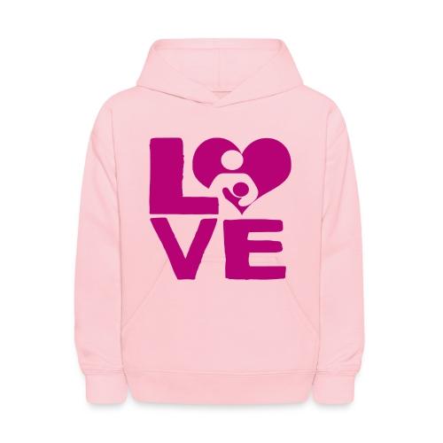 LOVE Breastfeeding - Kids' Hoodie