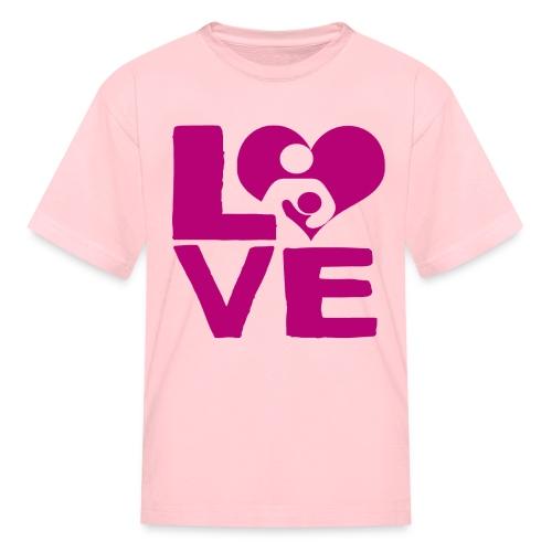 LOVE Breastfeeding - Kids' T-Shirt