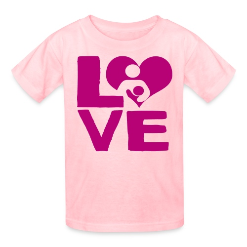 LOVE Breastfeeding - Kids' T-Shirt