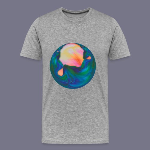Molten Planet Men's Tee - Men's Premium T-Shirt