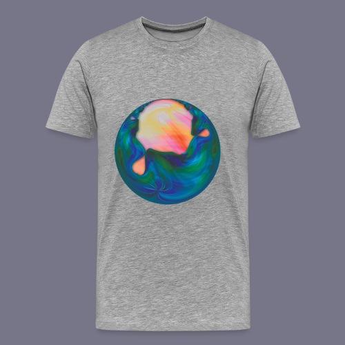 Molten Planet Men's Tee - Men's Premium T-Shirt