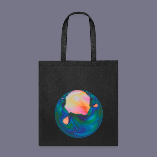 Molten Planet Tote Bag - Tote Bag