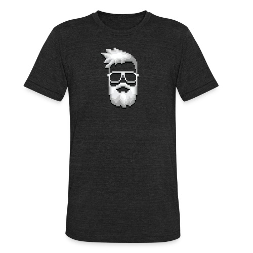 The Face of 5tat - AA - Unisex Tri-Blend T-Shirt