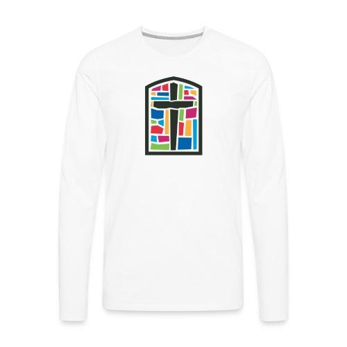 First Presbyterian Church Men's Long Sleeve T-Shirt - Men's Premium Long Sleeve T-Shirt