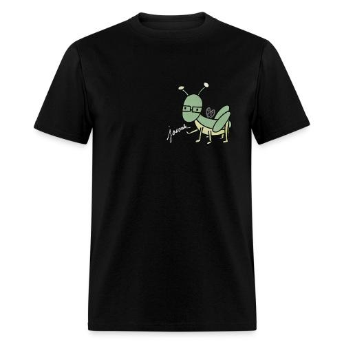 [Running Man] Jaesuk Jersey w/ Grasshopper (White) - Men's T-Shirt
