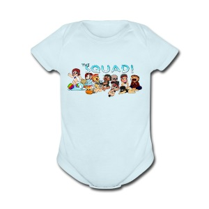 The Squad Babies Onesies - Short Sleeve Baby Bodysuit