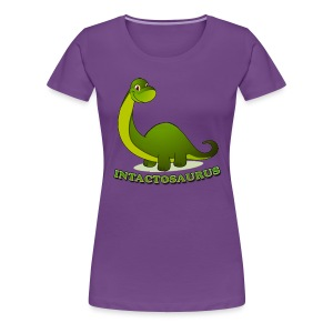 Intactosaurus! [2 Sided] - Women's Premium T-Shirt