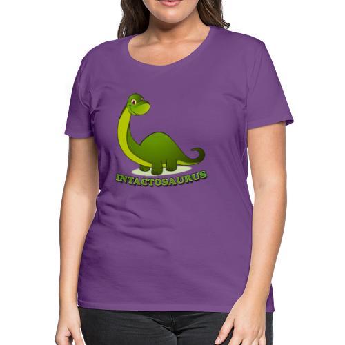 Intactosaurus! [2 Sided] - Women's Premium T-Shirt