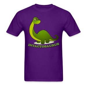 Intactosaurus! [2 Sided] - Men's T-Shirt