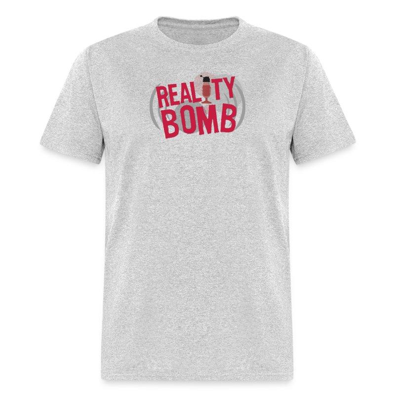 reality_bomb_logo - Men's T-Shirt