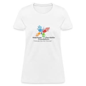 WCF Logo With Slogan - Women's T-Shirt