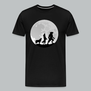 Werewolf Transformation - Men's - Men's Premium T-Shirt