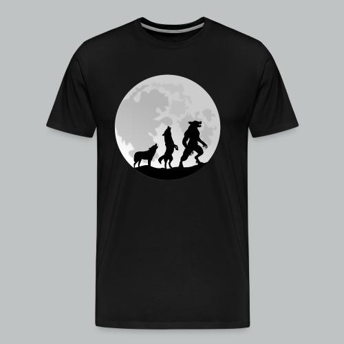 Werewolf Transformation - Men's - Men's Premium T-Shirt