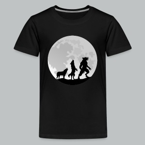 Werewolf Transformation - Kid's - Kids' Premium T-Shirt