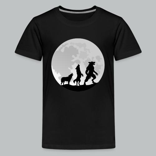 Werewolf Transformation - Kid's - Kids' Premium T-Shirt