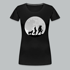 Werewolf Transformation - Women's - Women's Premium T-Shirt