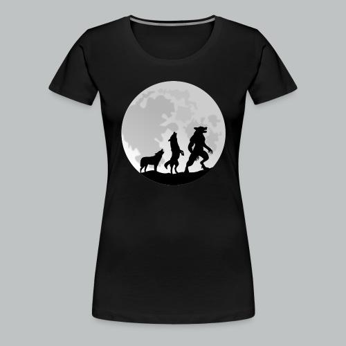 Werewolf Transformation - Women's - Women's Premium T-Shirt