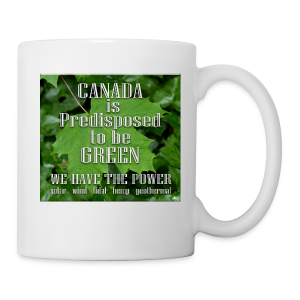 Green Canada Power Cups & Mugs - Coffee/Tea Mug