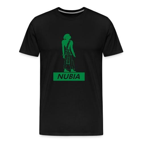 Nubian Heiroglyph (Green) - Men's Premium T-Shirt