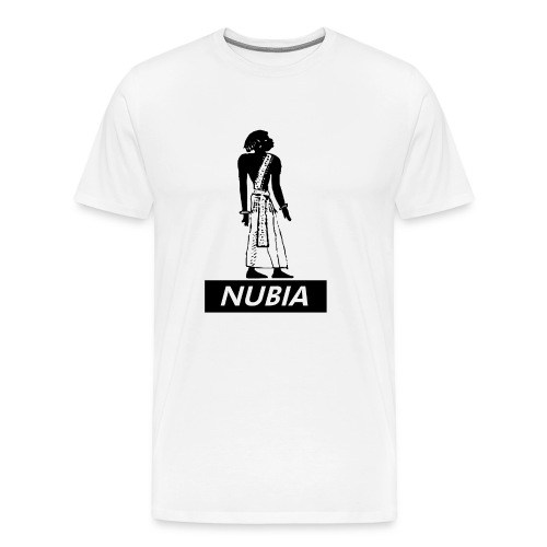 Nubian Heiroglyph  - Men's Premium T-Shirt