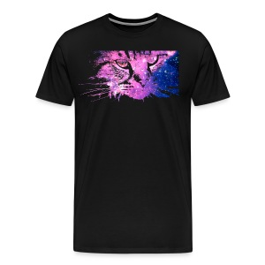 Cat Galaxy (Premium) - Men's Premium T-Shirt