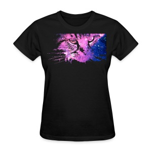 Galaxy Cat (Women Gildan) - Women's T-Shirt