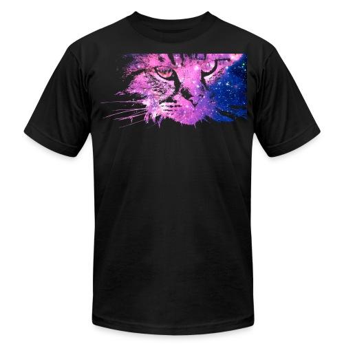 Cat Galaxy (Amer. App.) - Men's Fine Jersey T-Shirt