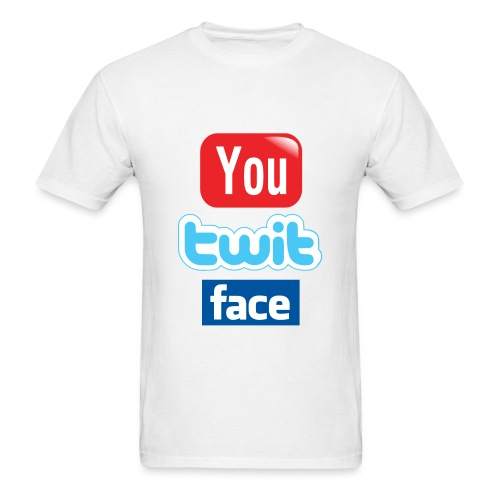 You Twit Face - Men's T-Shirt