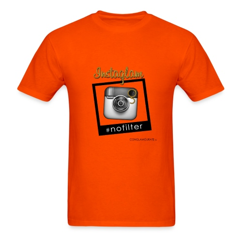 Instagram No Filter - Men's T-Shirt