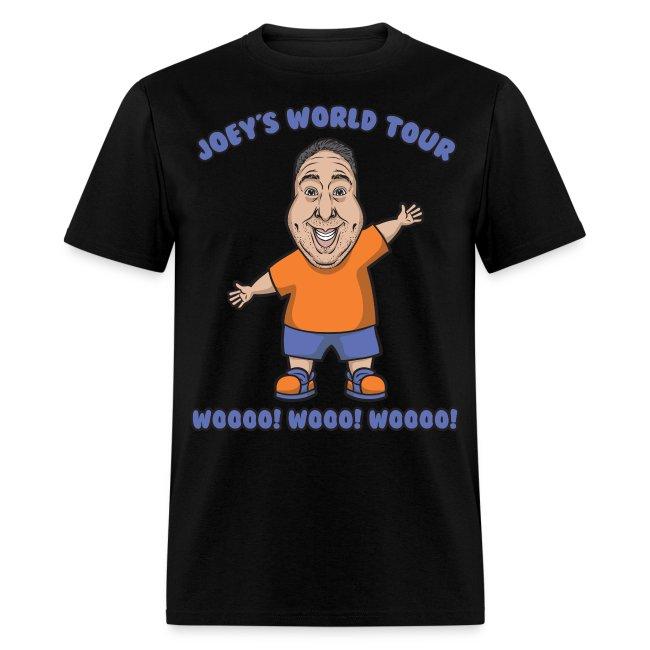 Joey's World Tour Official WOo! WoOo! T-Shirt!