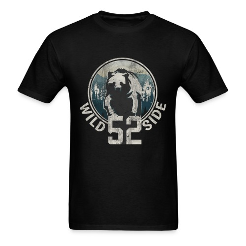 Wild Side Mountain Bear - Men's T-Shirt