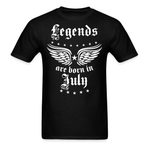 Legends are born in July birthday Vintage Stars sexy T-Shirt - Men's T-Shirt