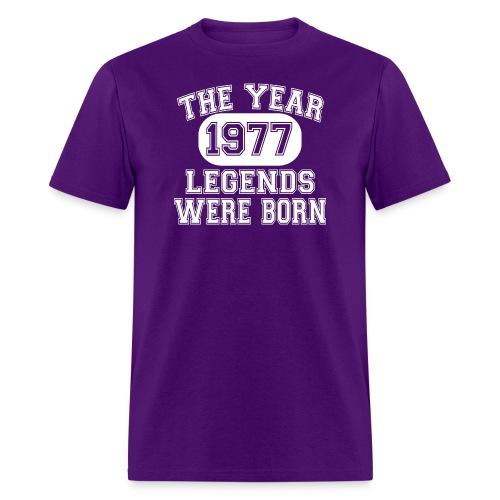 1977 The Year Legends Were Born T Shirt - Men's T-Shirt