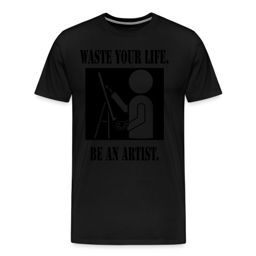 WYL Black on Black - Men's Premium T-Shirt