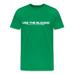 Use The Blocks - Men's Premium T-Shirt