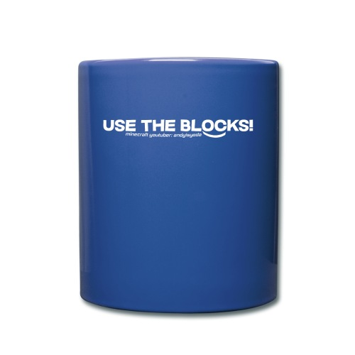 Use The Blocks - Full Color Mug