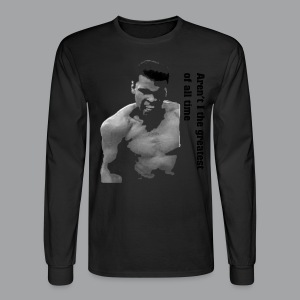 Muhammad Ali Quote Sweater - Men's Long Sleeve T-Shirt