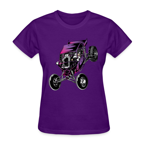 Purple Off-Road Dune Buggy Shirt - Women's T-Shirt
