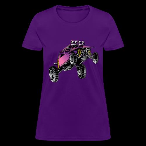 Purple Stunt Buggy Shirt - Women's T-Shirt