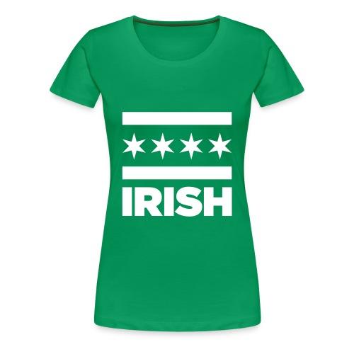Chicago Irish T-Shirt - Women's - Women's Premium T-Shirt