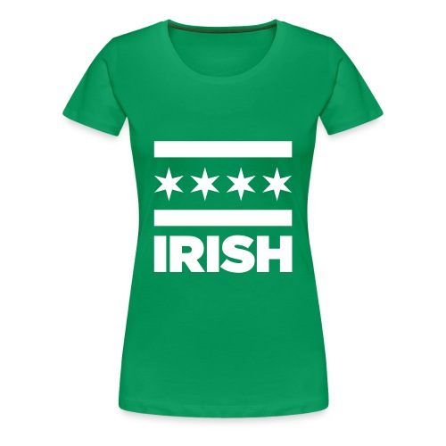 Chicago Irish T-Shirt - Women's - Women's Premium T-Shirt