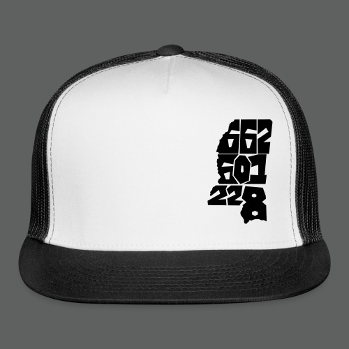 Numbers Trucker Hat - Trucker Cap
