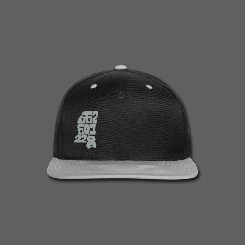 Numbers Snapback - Snap-back Baseball Cap