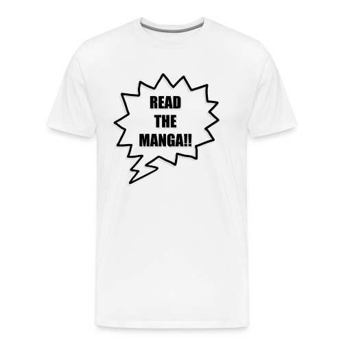 Read The Manga!!  - Men's Premium T-Shirt
