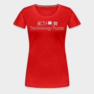 Women: Premium Technology Puzzle 5.0 T-Shirt - Women's Premium T-Shirt
