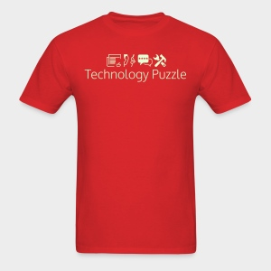 Men: Glow In The Dark Technology Puzzle 5.0 T-Shirt - Men's T-Shirt