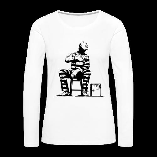 Self Prisoner Sweater - Women's Premium Long Sleeve T-Shirt