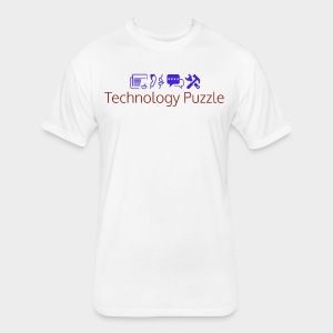 Unisex: Technology Puzzle 5.0 Next Level T-Shirt - Fitted Cotton/Poly T-Shirt by Next Level