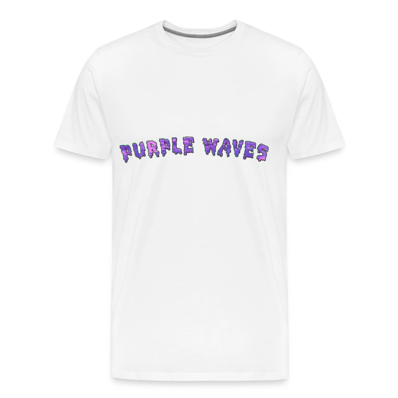 Purple Waves - Men's Premium T-Shirt
