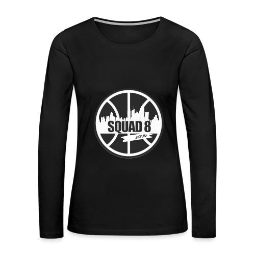 Women Squad 8 long sleeve black - Women's Premium Long Sleeve T-Shirt